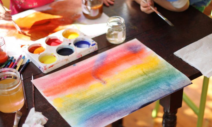 How to get Started with Waldorf-Inspired Watercolour Painting