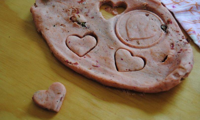 Valentine's Modelling Salt Dough
