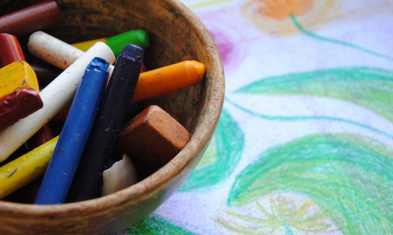 How to get Started with Waldorf-Inspired Beeswax Crayon Drawing