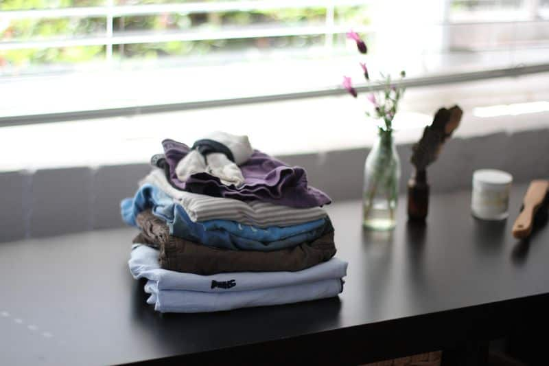 Daily Chores for Children - Folding Clothes