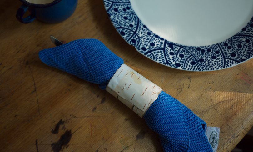 Crafting : Birchbark Napkin Rings
