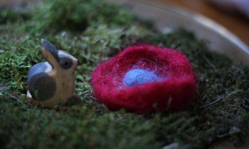 Felted Easter Egg Tutorial