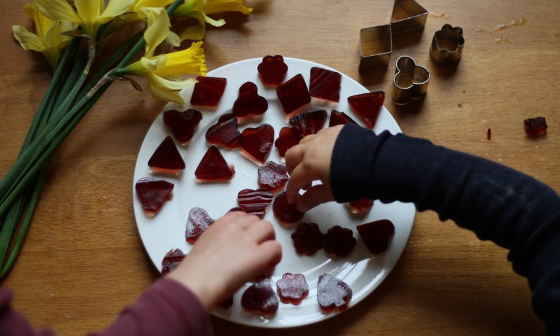 In the Kitchen : Homemade Jelly Candy