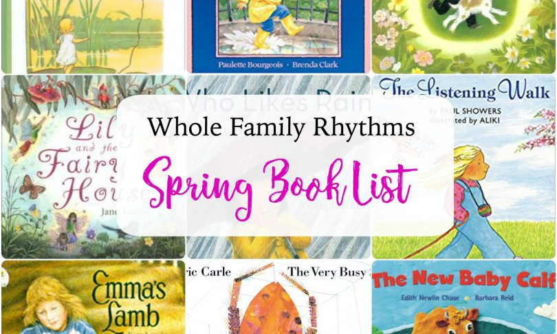 Waldorf and Nature-Inspired Spring Reading List