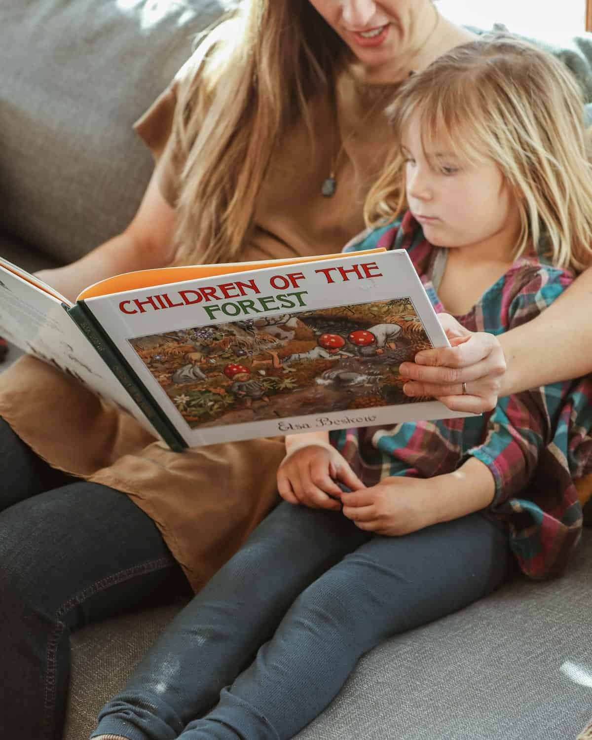 Meagan Reading With Child Whole Family Rhythms